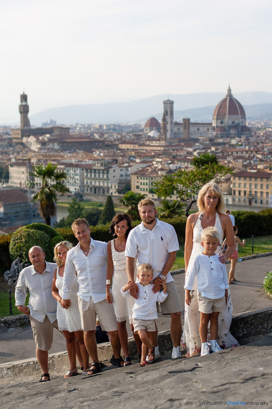 SWEDISH FAMILY PORTRAIT IN FLORENCE