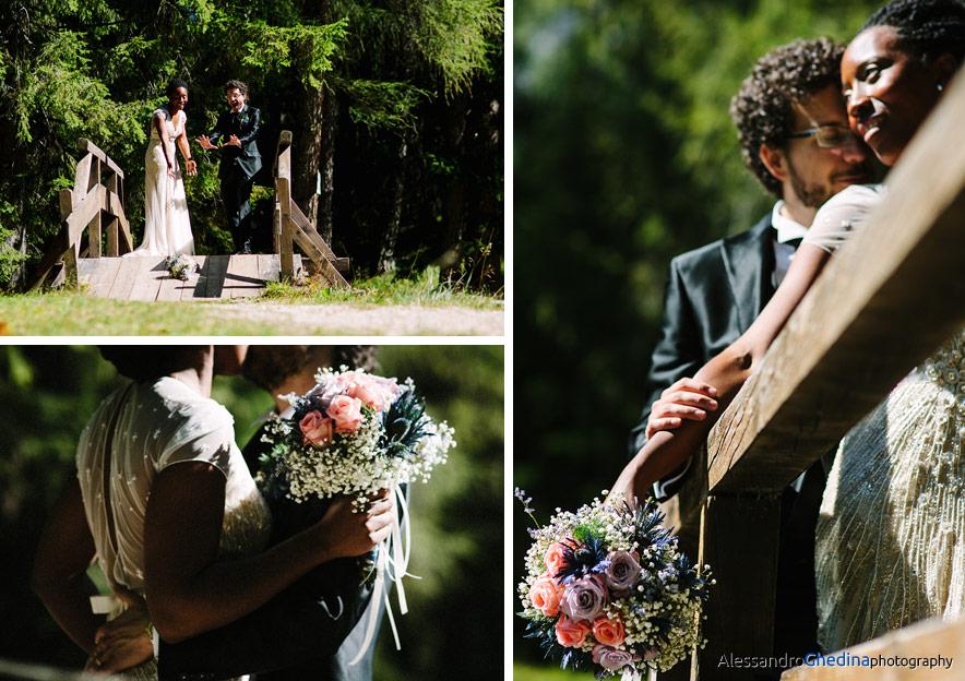 fotografie di matrimonio a Cortina d'Ampezzo