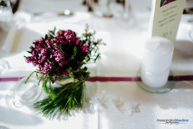 dettaglio decorazioni floreali
