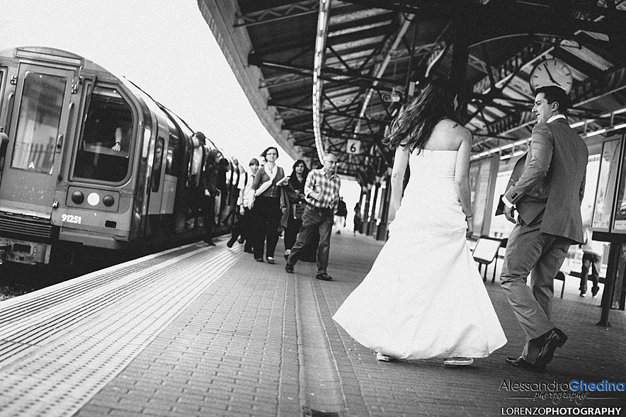 LONDON TRASH THE DRESS PHOTOGRAPER