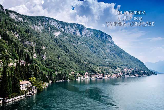 panorama da Villa Cipressi sul lago di Como fotografie di matrimonio