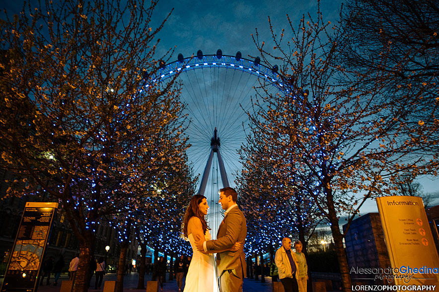 TRASH THE DRESS A LONDRA CITTA' DELL'INGHILTERRA