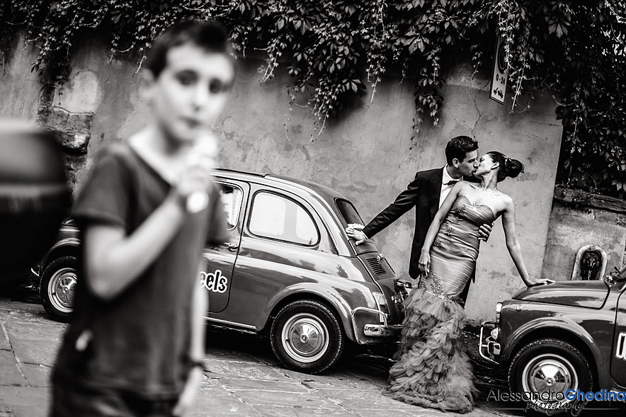TRASH THE DRESS A FIRENZE IN TOSCANA
