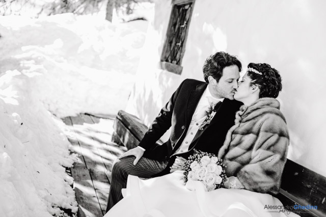WEDDING PHOTOGRAPHER IN CORTINA| Wedding Photography on the Snow