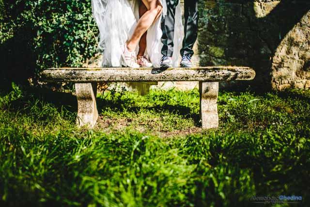 dettaglio di fotografia di matrimonio a Pienza