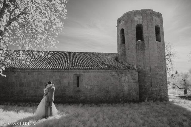 Pieve di Corsignano a Pienza fotografia di Matrimonio