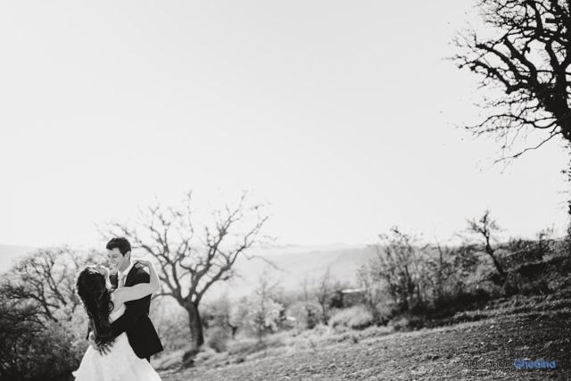 fotografie di matrimonio a Pienza