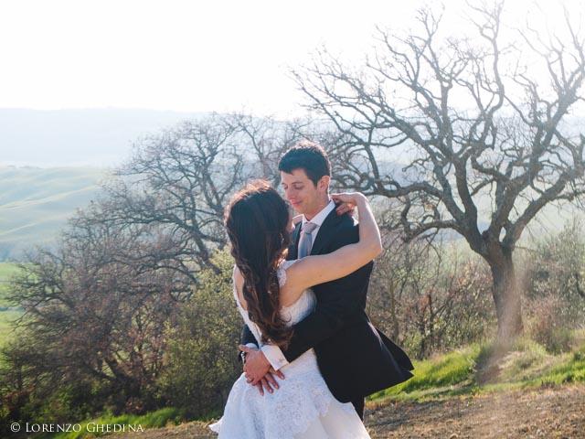 matrimonio a Pienza