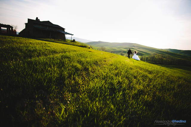 trash the dress photographer tuscany