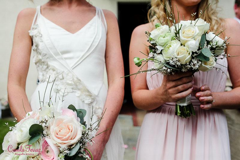 bouquet details intimate wedding in Montegonzi arezzo