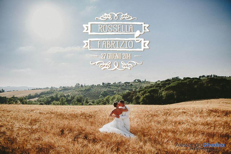 fotografie di matrimonio nella campagna toscana