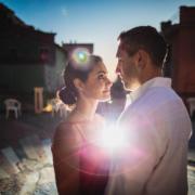 Fotografo cinque terre ritratto di coppia