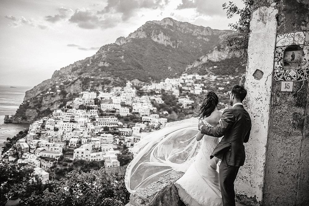fotografo matrimonio Positano Villa Oliviero