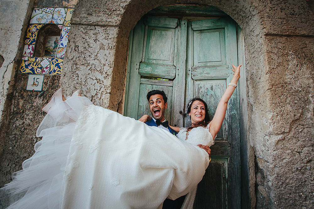 Wedding photographer Positano Villa Oliviero