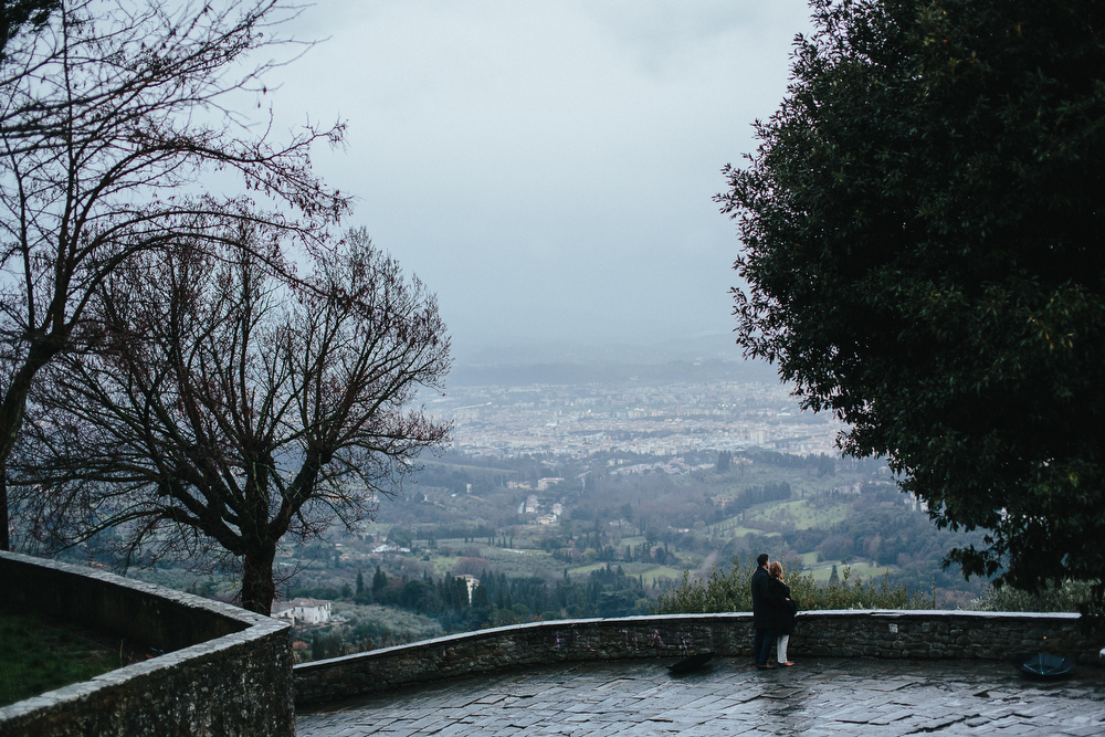 PROPOSING IN FIESOLE WEDDING PROPOSAL ITALY