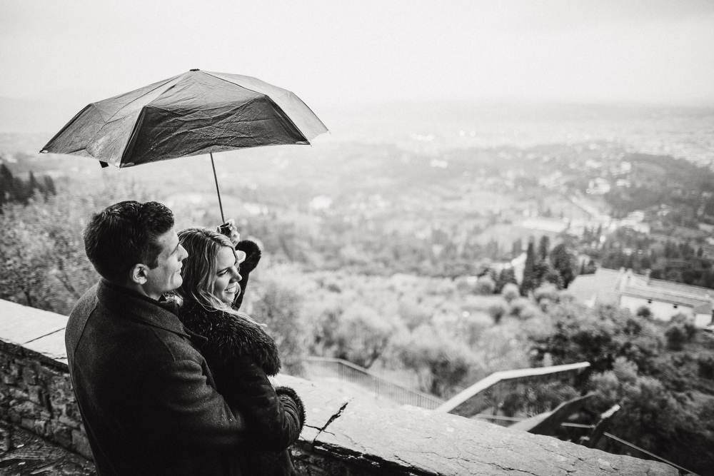 PROPOSING IN FIESOLE - WEDDING PROPOSAL IN ITALY