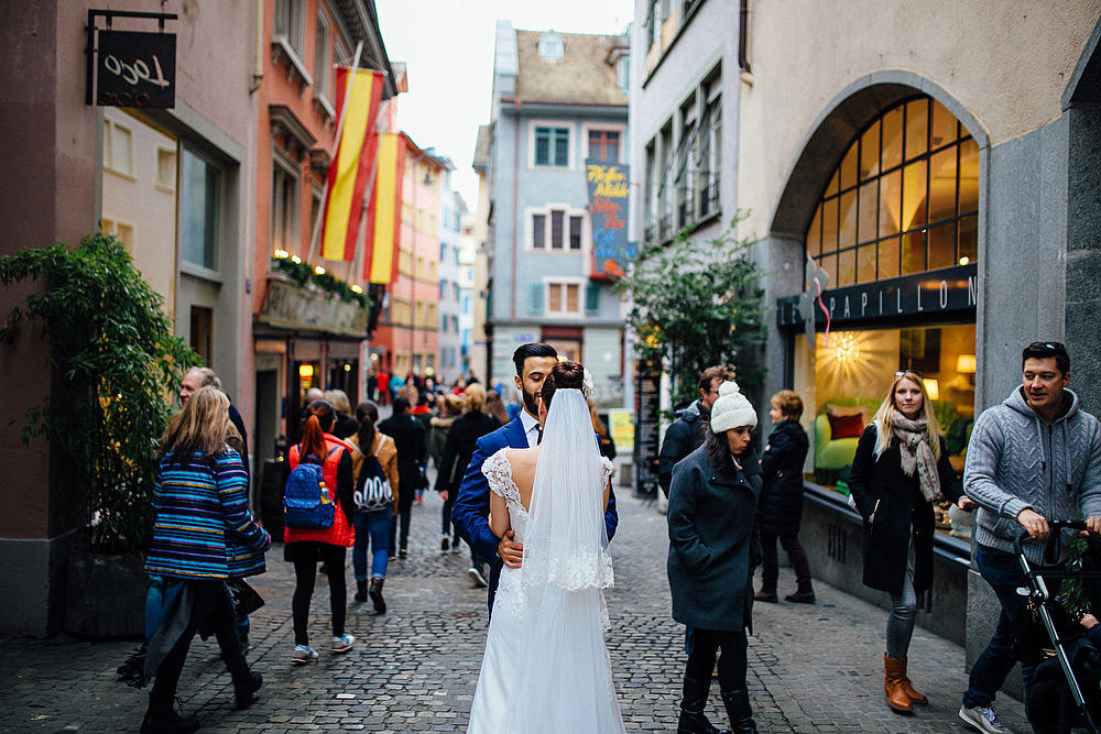 trash the dress a zurigo in svizzera