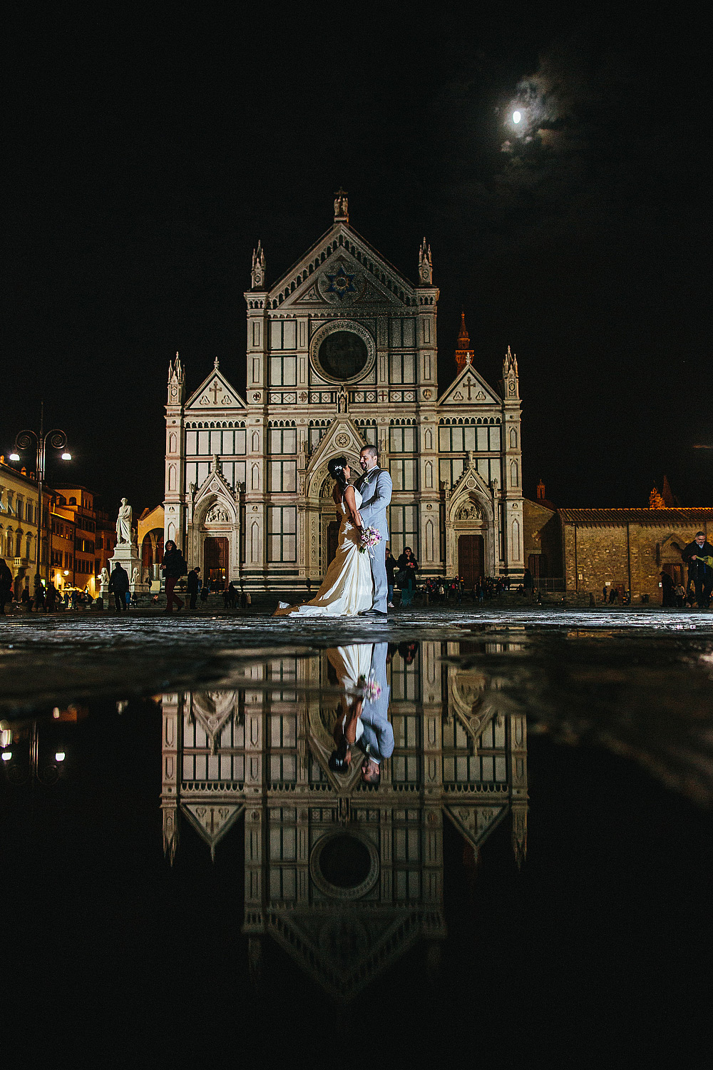 intimo matrimonio all'antica torre di via tornabuoni