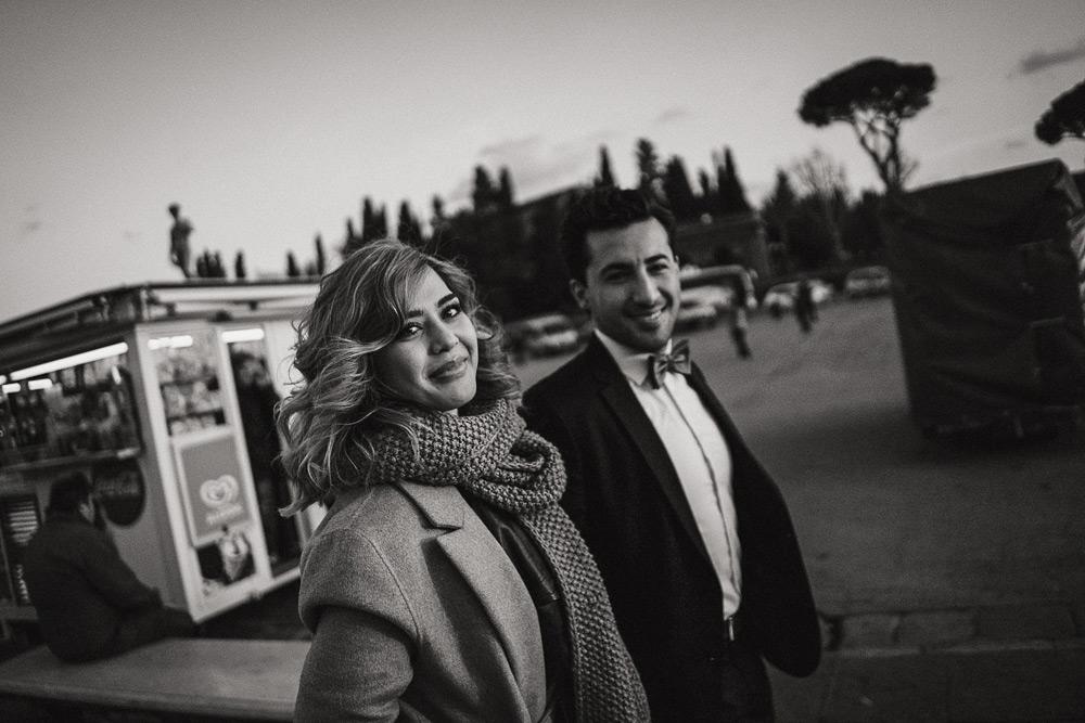 PROPOSTA DI MATRIMONIO AL PIAZZALE MICHELANGELO