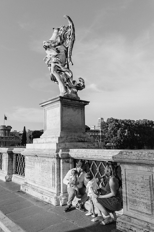 RITRATTI DI FAMIGLIA NEL CENTRO DI ROMA