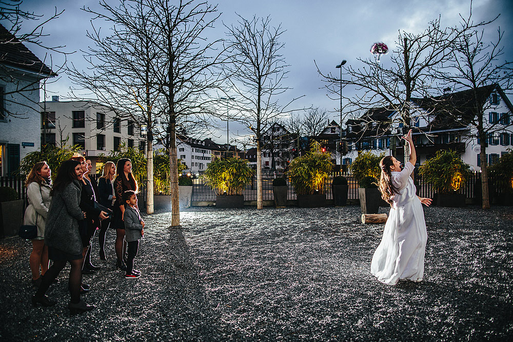 WEDDING IN ZURICH KRONENPLATZ SWITZERLAND