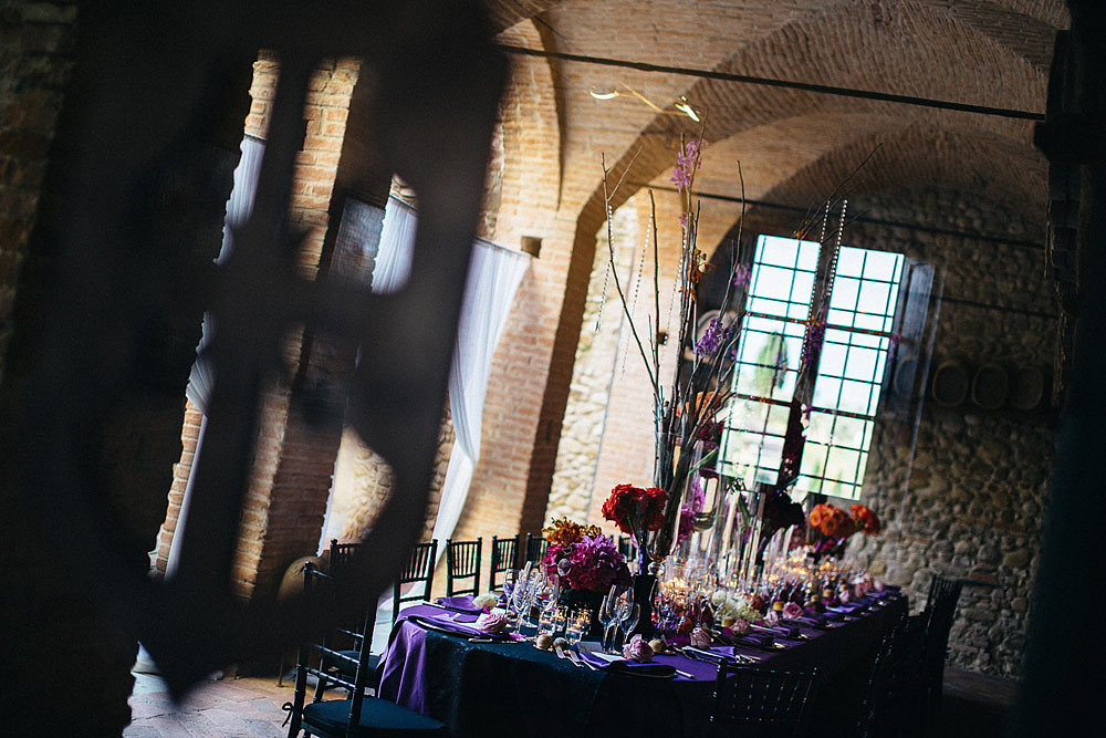 CASTLE OF BIBBIONE WEDDING IN CHIANTI TUSCANY