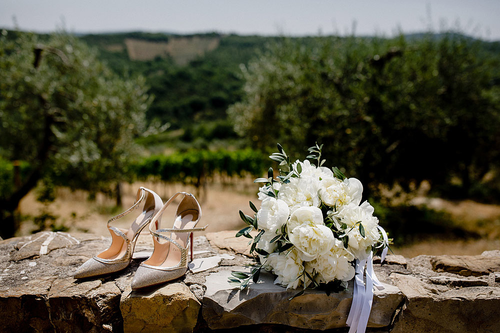 Romantic and Rustic Wedding Chic in Chianti Tuscany :: Luxury wedding photography - 4