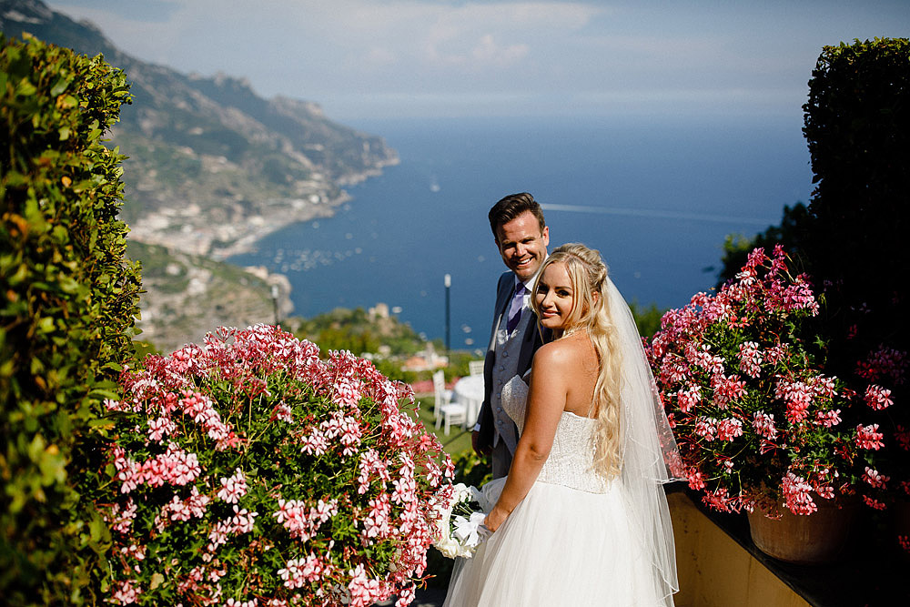 RAVELLO MATRIMONIO SULLA COSTIERA AMALFITANA :: Luxury wedding photography - 35