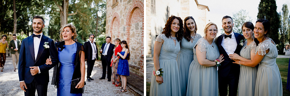 Wedding in Val d'Orcia in a romantic Tuscan village :: Luxury wedding photography - 21