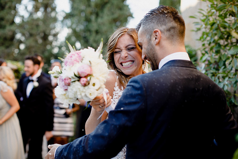 Wedding in Val d'Orcia in a romantic Tuscan village :: Luxury wedding photography - 33