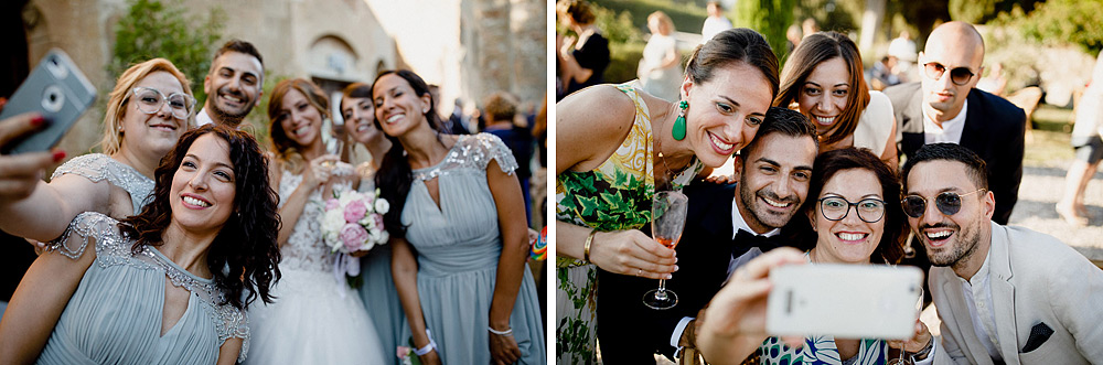 Wedding in Val d'Orcia in a romantic Tuscan village :: Luxury wedding photography - 36