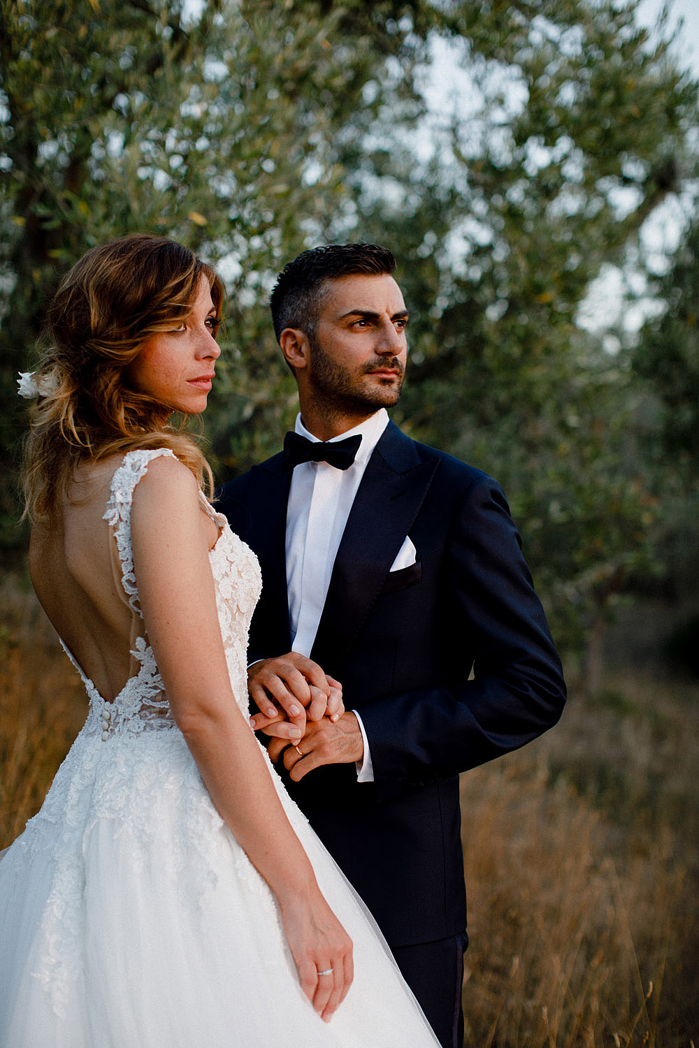 Wedding in Val d'Orcia in a romantic Tuscan village :: Luxury wedding photography - 45