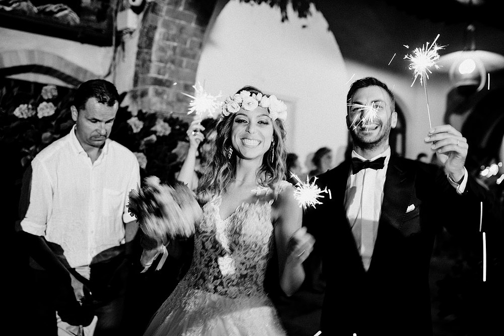 Wedding in Val d'Orcia in a romantic Tuscan village :: Luxury wedding photography - 55