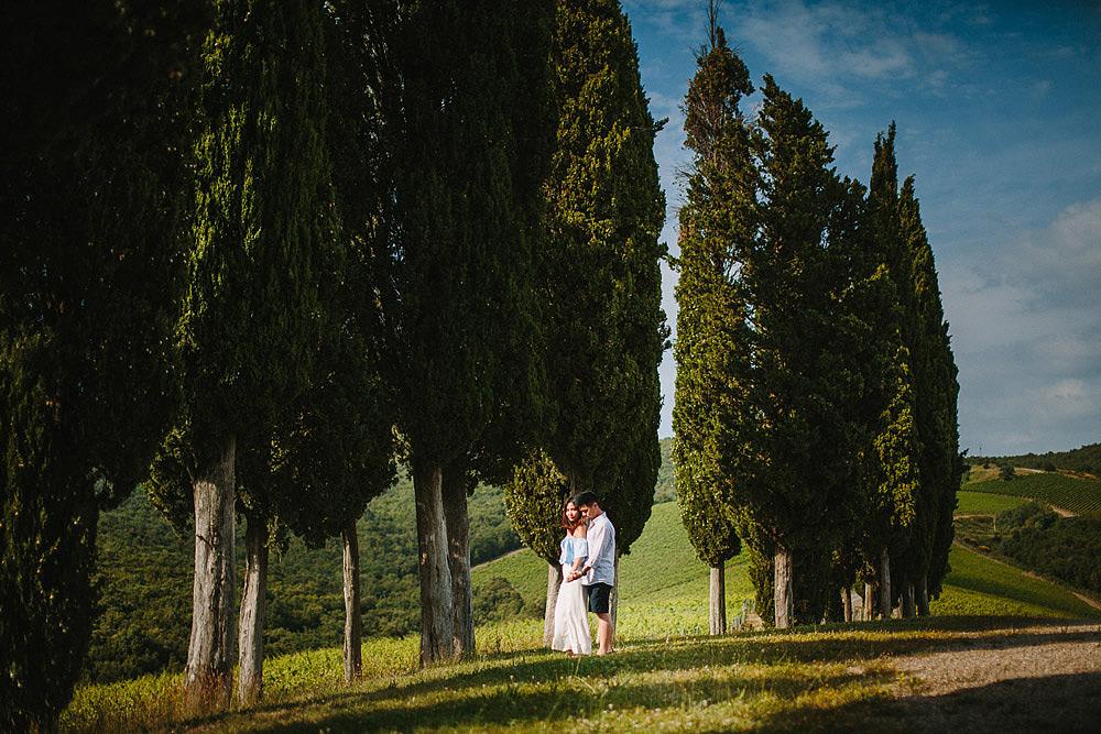 CASTIGLION DEL BOSCO SUGGESTIVA PROPOSTA DI MATRIMONIO