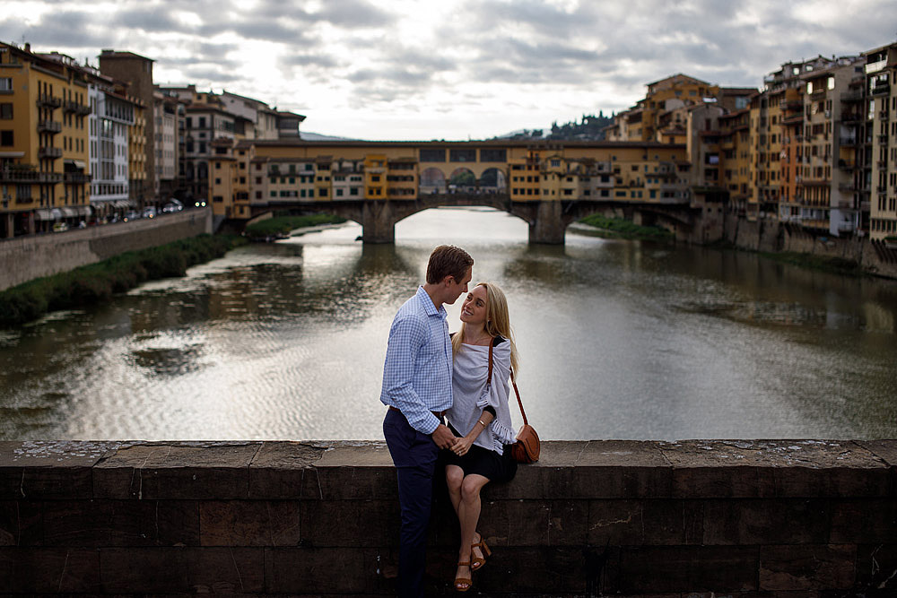 HONEYMOON IN THE HISTORIC CENTRE OF FLORENCE TUSCANY :: Luxury wedding photography - 9