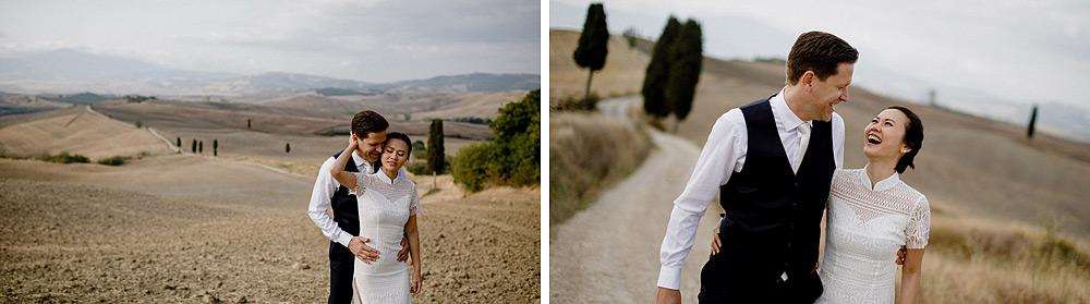 Destination wedding in Val d'Orcia by Borgo Castelvecchio :: Luxury wedding photography - 1