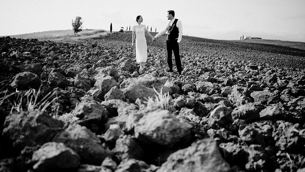 Destination wedding in Val d'Orcia by Borgo Castelvecchio :: Luxury wedding photography - 7