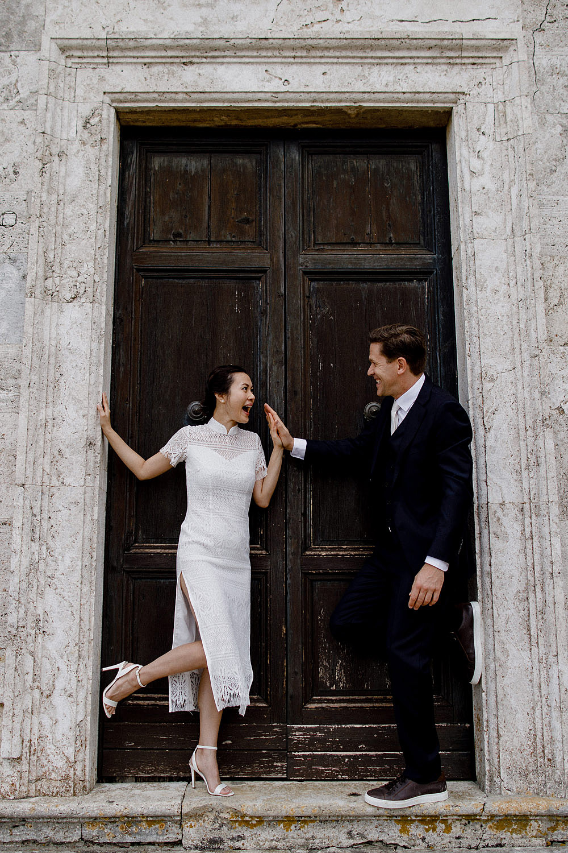Destination wedding in Val d'Orcia by Borgo Castelvecchio :: Luxury wedding photography - 19