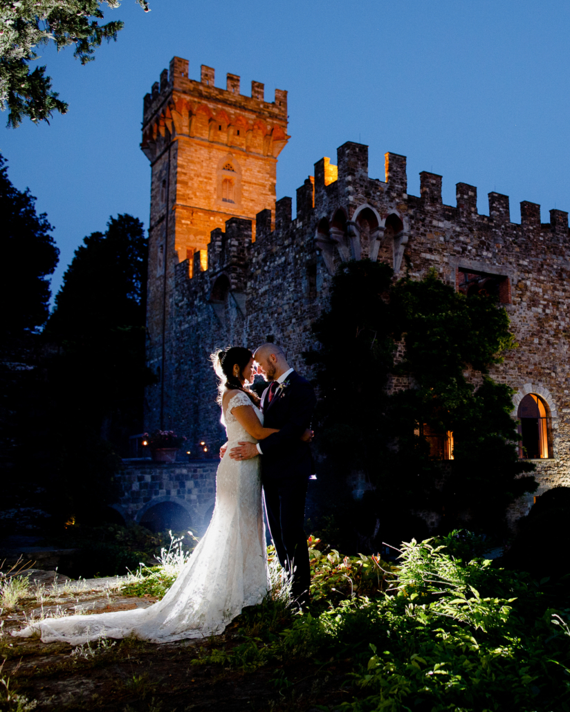 Luxury wedding at Castello di Vincigliata Firenze