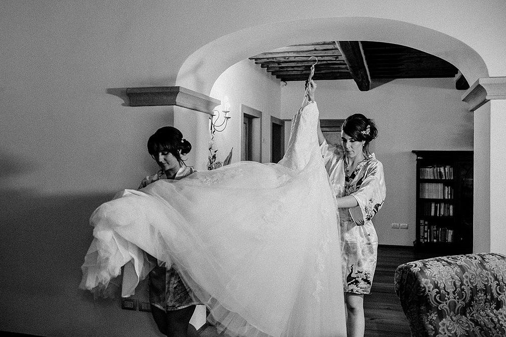 TENUTA DI STICCIANO MATRIMONIO NEL CUORE DEL CHIANTI :: Luxury wedding photography - 13