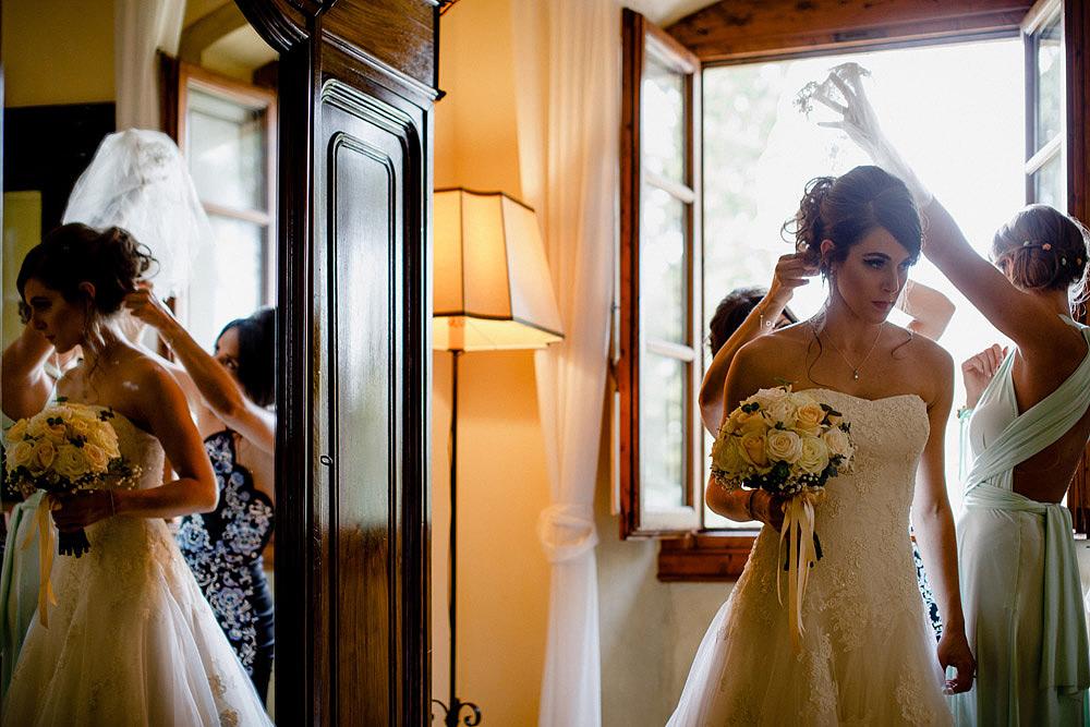 TENUTA DI STICCIANO MATRIMONIO NEL CUORE DEL CHIANTI :: Luxury wedding photography - 16