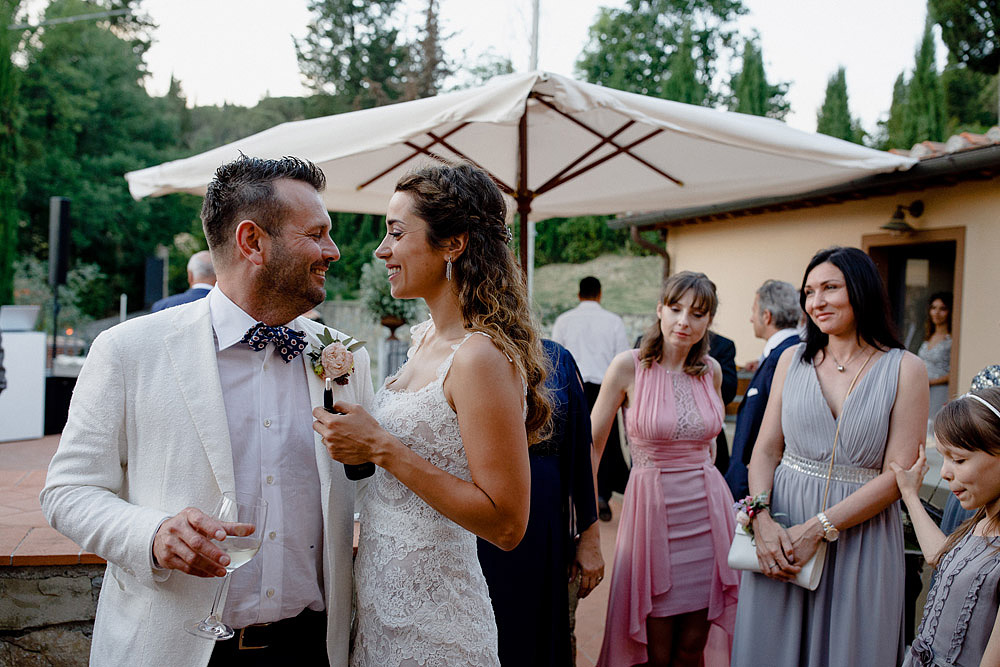 SAN DONATO MATRIMONIO TRA LE COLLINE DEL CHIANTI TOSCANA :: Luxury wedding photography - 45