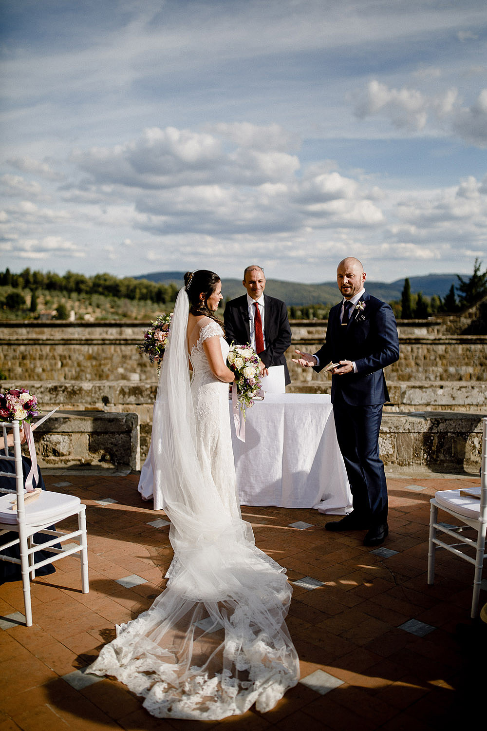 Elegante Matrimonio a Castello Vincigliata | Firenze Italia :: Luxury wedding photography - 27