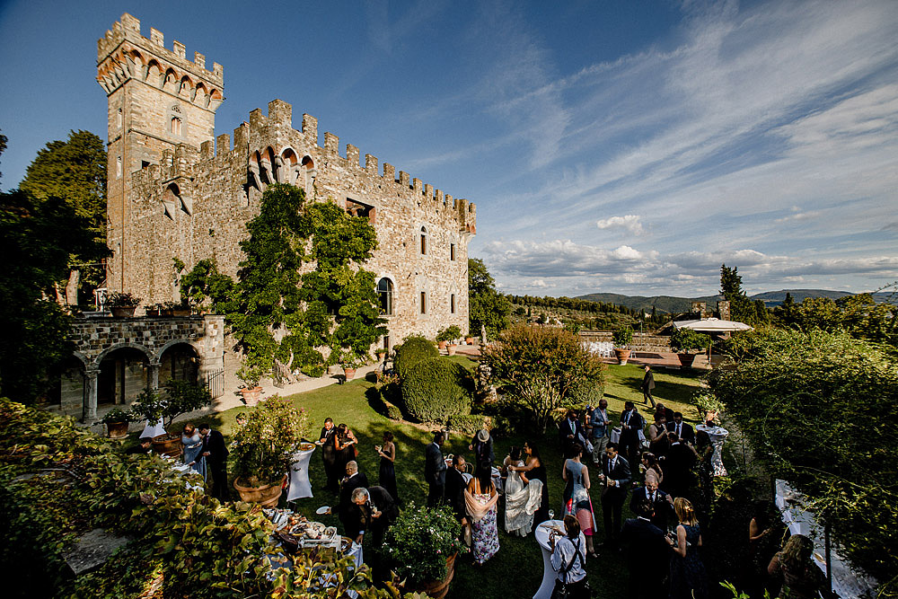 Elegante Matrimonio a Castello Vincigliata | Firenze Italia :: Luxury wedding photography - 32