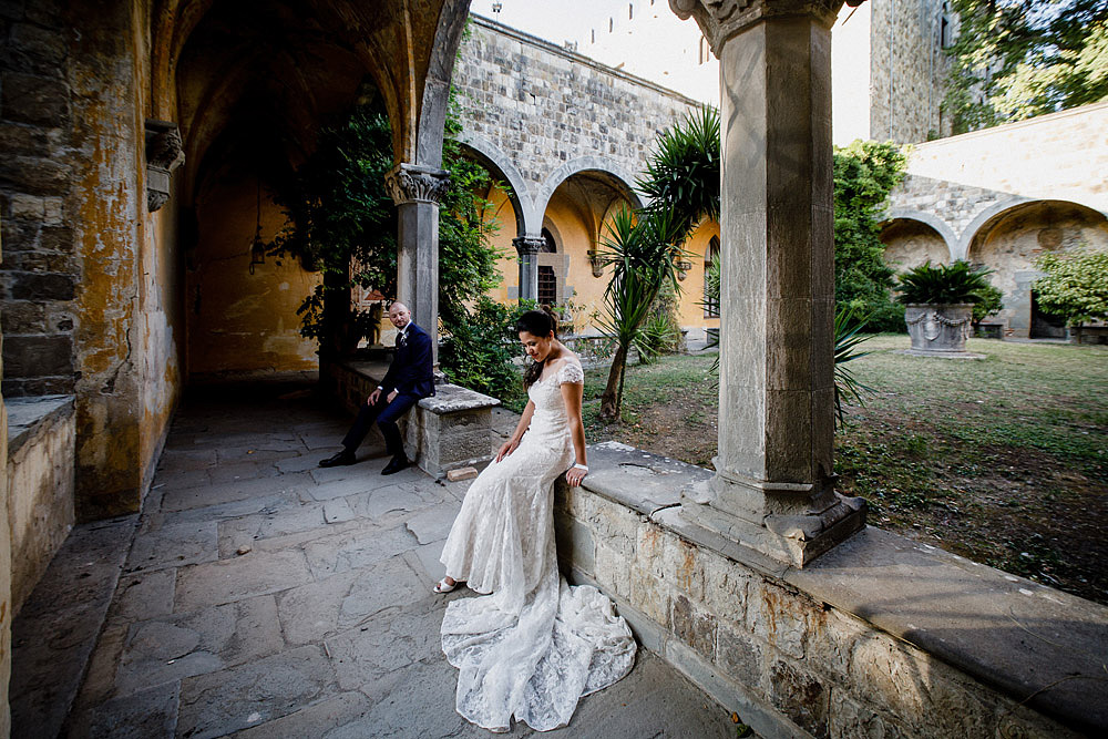 Stylish Wedding at Castello Vincigliata | Florence Italy :: Luxury wedding photography - 41