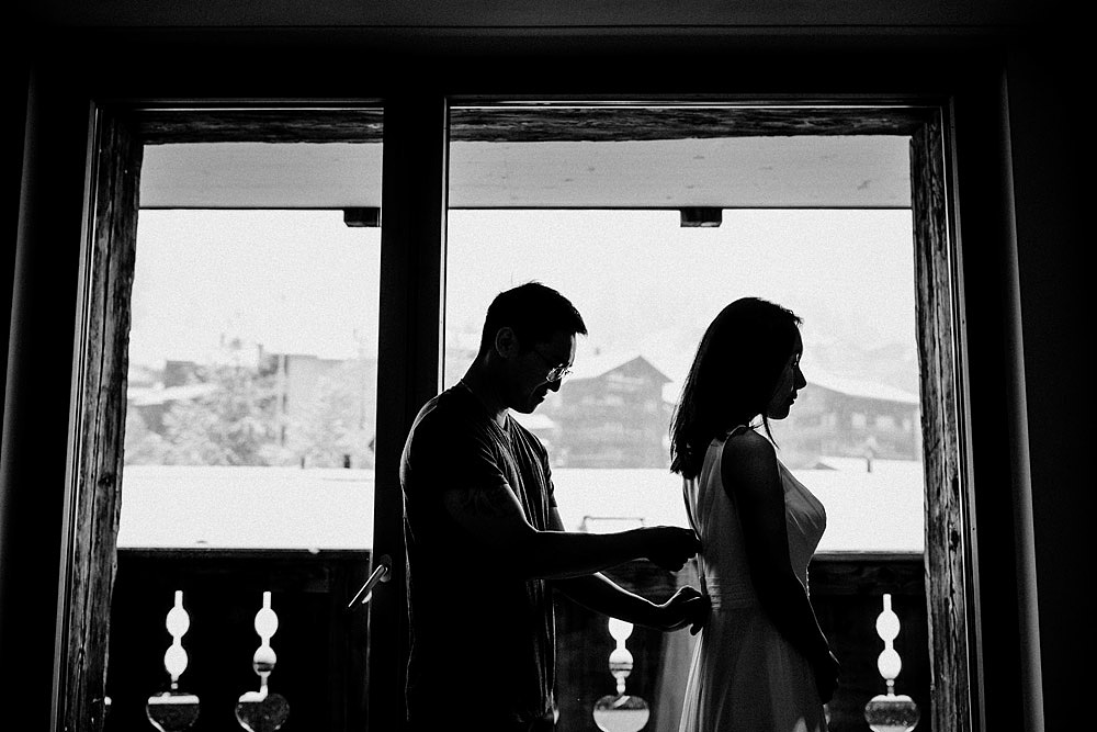Intimissimo matrimonio a Zermatt in Svizzera :: Luxury wedding photography - 5