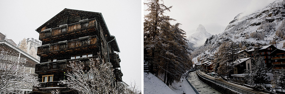 Engagement Session in the snow in Zermatt Switzerland :: Luxury wedding photography - 2