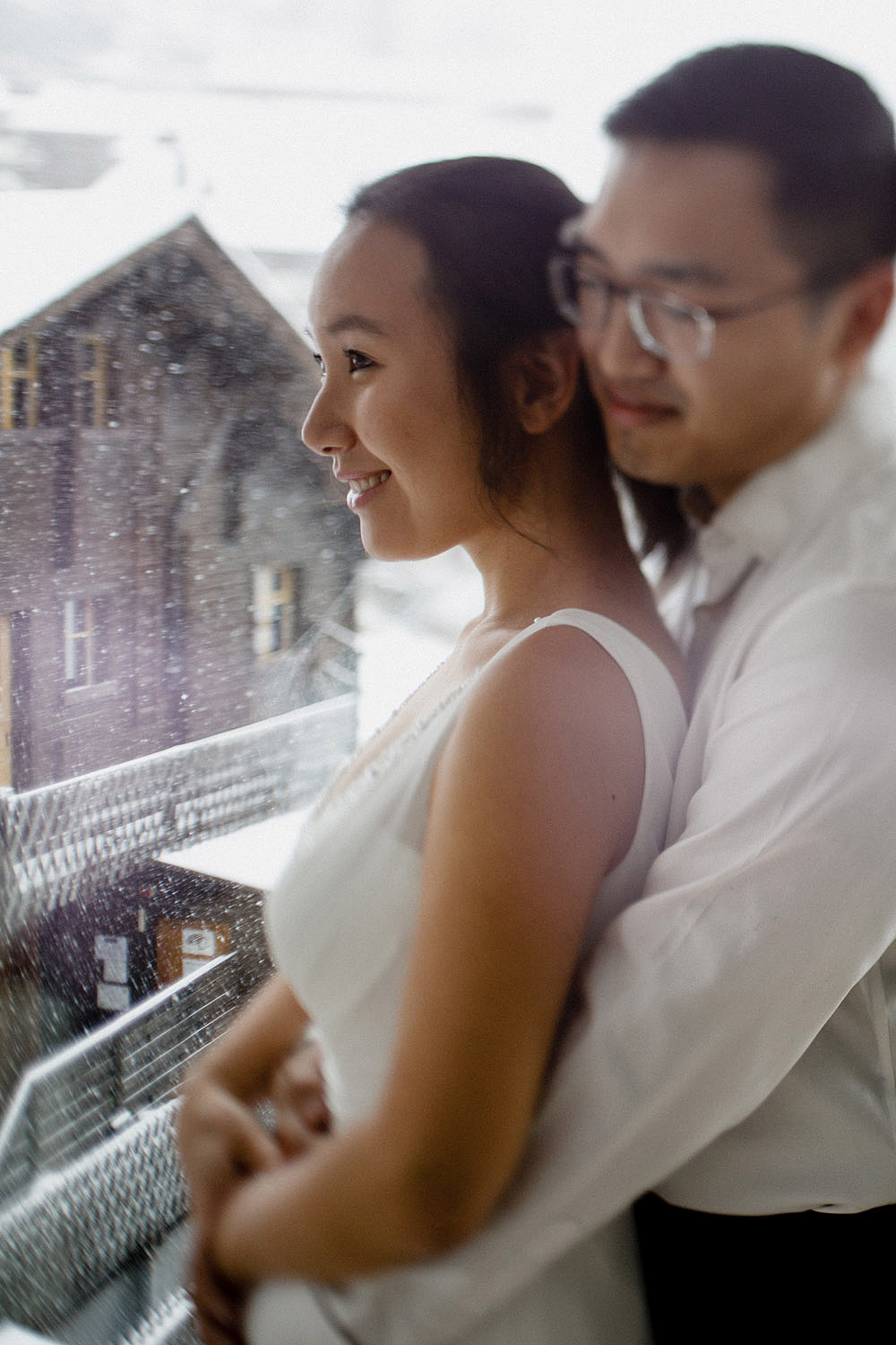 Engagement Session in the snow in Zermatt Switzerland :: Luxury wedding photography - 8