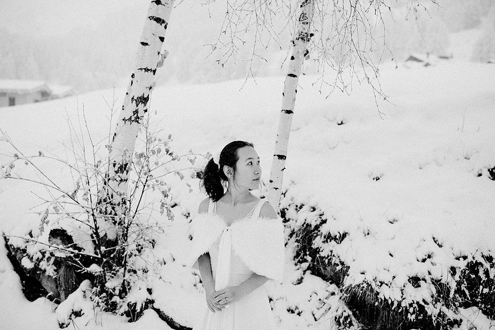 Engagement Session in the snow in Zermatt Switzerland :: Luxury wedding photography - 15