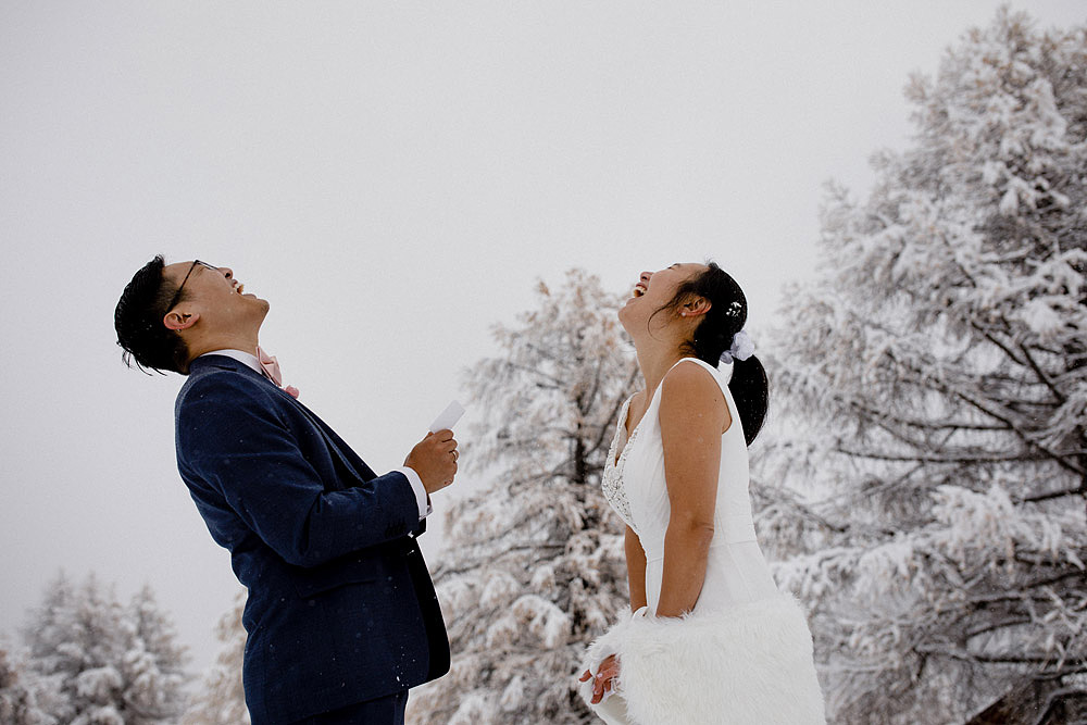 Engagement Session in the snow in Zermatt Switzerland :: Luxury wedding photography - 22